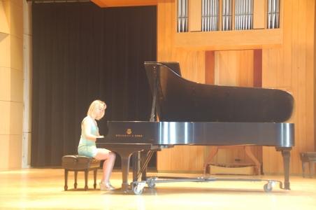 Heidi Harris, UVM piano recital