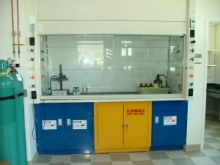 Bio safety cabinet in the lab