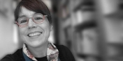 Photograph of Susy Mason, website and UX designer at the University of Vermont