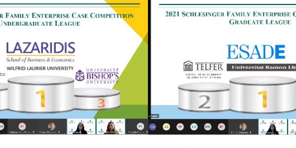 uvm grossman school of business  Schlesinger Global Family Enterprise Case Competition