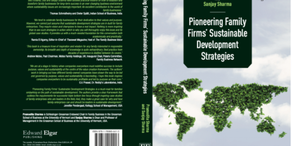 New Book Provides Examples and Template for Sustainable Development Strategies in Family Businesses, Grossman school of business, uvm