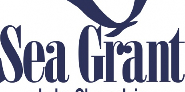 Lake Champlain Sea Grant Logo with the outline of a seagull