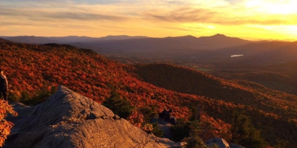 Sunset on Mt. Mansfield