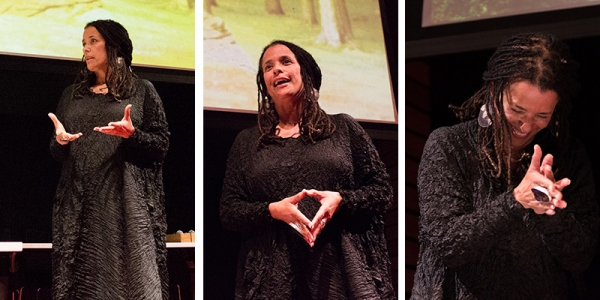 Carolyn Finney. Photos by Michael Estrada.
