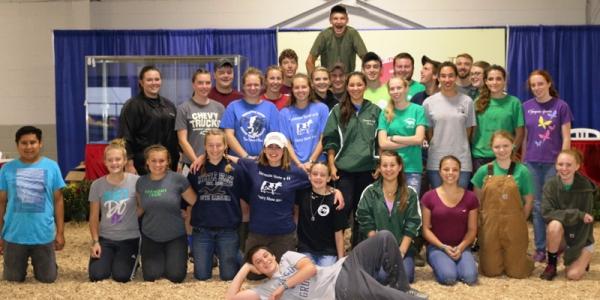 Vermont 4-H delegation