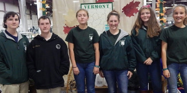 4-H sheep delegation