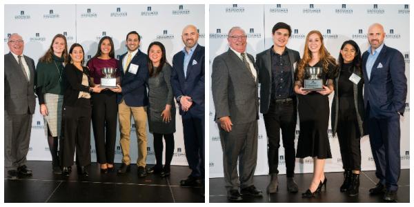 FECC 2020 winners, Grossman School of Business, UVM
