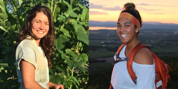 Alisha Utter and Olivia Peña are recipients of scholarships from the James Beard Foundation