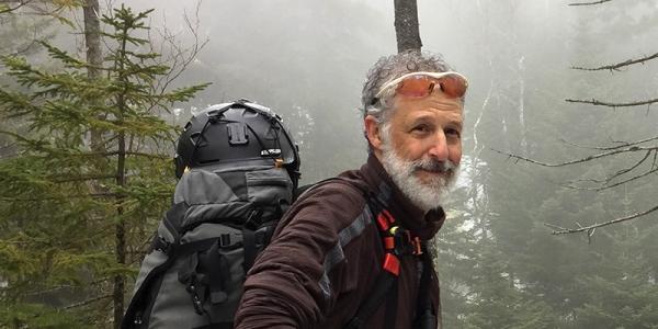 Tom Broido hiking