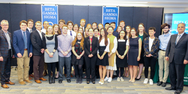 beta gamma sigma, uvm, grossman school of business