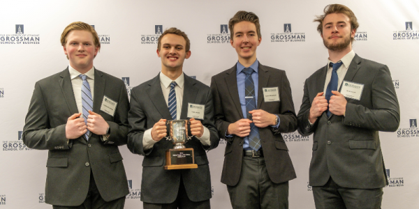 dean's cup, 2020, grossman school of business, uvm