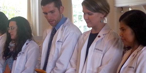 UVM Nursing white coat ceremony