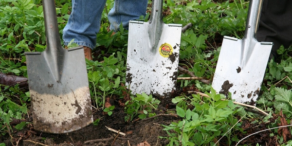gardening spades