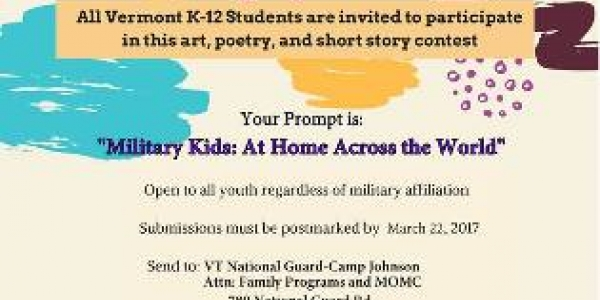 Month of the Military Child Art Contest