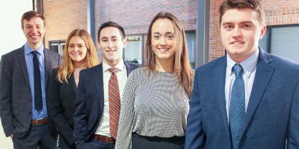 UVM, dress for success, GSAC, grossman school of business
