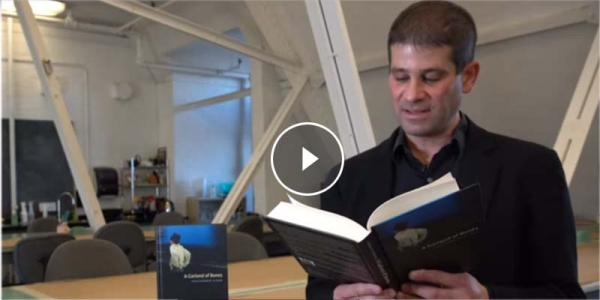 Jonah Steinberg reading from his book