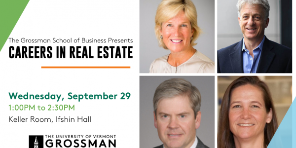 Careers in Real Estate Panel Poster