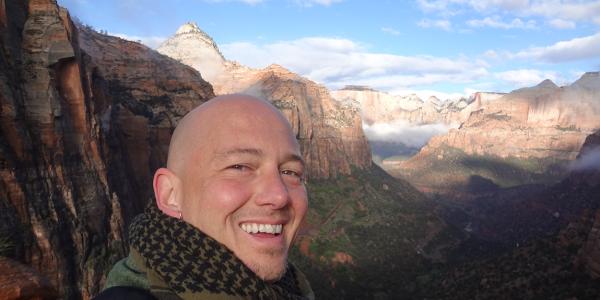 "Jonathan ""Doc"" Bradley in Zion National Park"