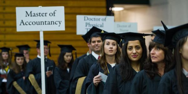 Master of Accountancy Graduation 2016