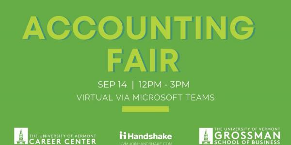 Accounting Fair September 14th 2021