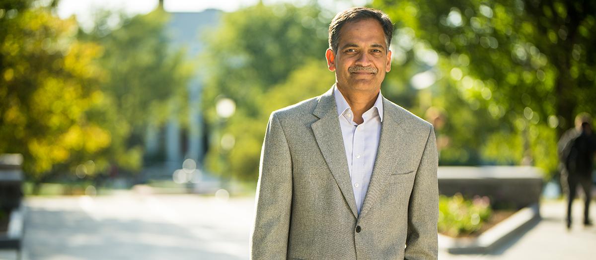 UVM President Suresh Garimella