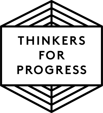 Thinkers for Progress badge