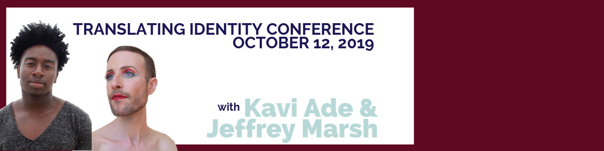 Photos of keynote speakers, Jeffrey Marsh and Kavi Ade, with text describing the date of the conference 10.12.19