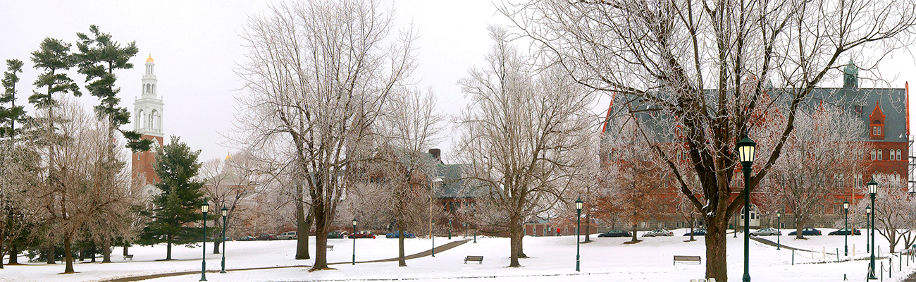 Winter on the UVM Campus