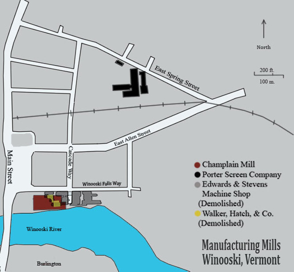 Manufacturing in Winooski Vermont by Ashley Phillips