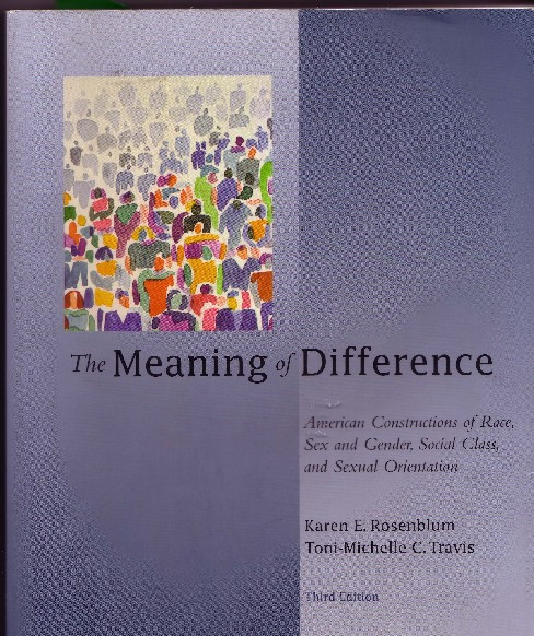 the meanings of race class gender Social issues essays: the meanings of race, class, gender, and sexuality.