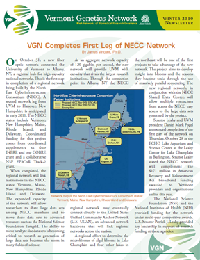 VGN Winter 2010 Newsletter