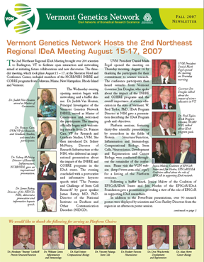 VGN Fall 2007 Newsletter