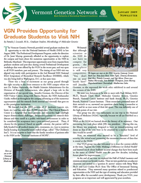VGN Winter 2009 Newsletter
